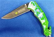 BIOHAZARD ZOMBIE SURVIVAL GEAR FOLDING KNIFE